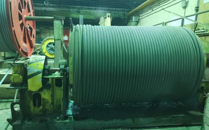 На скиповом стволе №3 рудника «Таймырский» устанавливают новое оборудование
