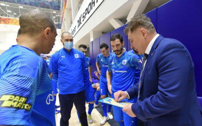 МФК «Норильский никель» готовится к очередному туру Суперлиги