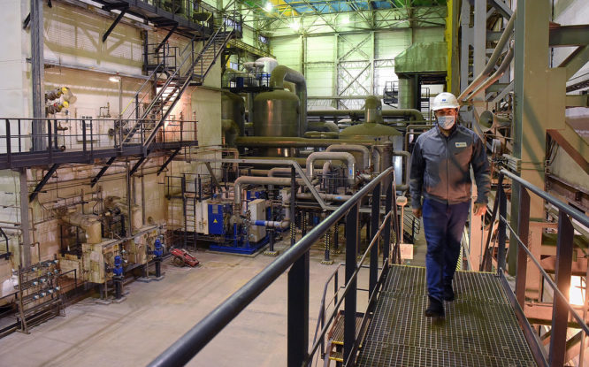 На кислородной станции НМЗ готовятся к ремонту блока разделения воздуха
