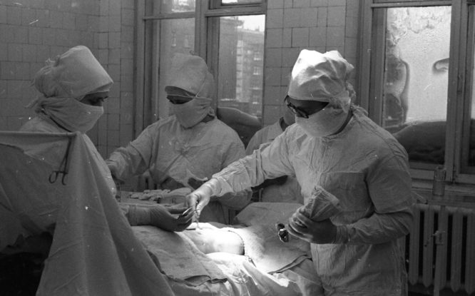 Больничный городок на Кирова начали возводить 65 лет назад, в 1956-м