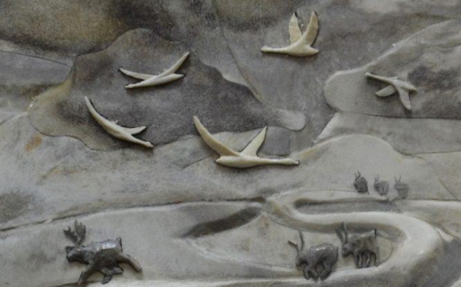 Северные народы еще много веков назад могли создавать трехмерные изображения