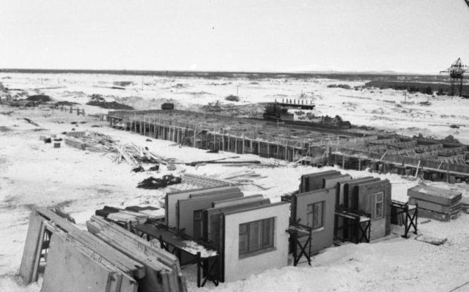 В 1961-м в Норильске началась эпоха крупнопанельного домостроения