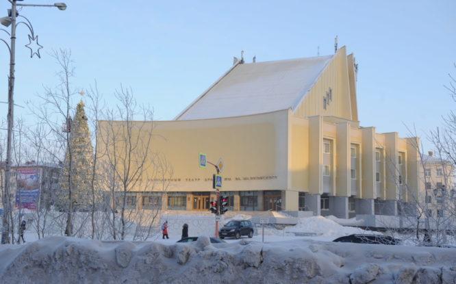 Театральный сезон–87 в Норильской драме открыли только в феврале