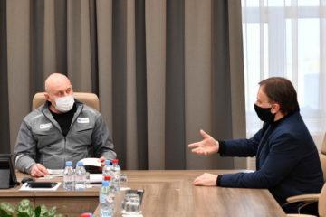 Директор Норильского дивизиона встретился с этнографом Андреем Головневым