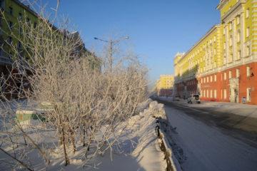 В Норильске отступили морозы