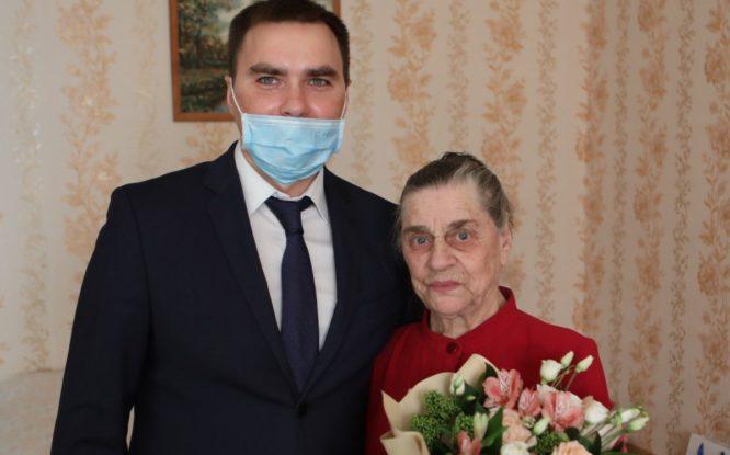 Норильский ветеран получила поздравления от Президента России