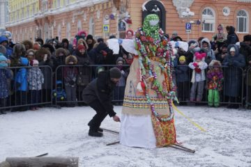 Музей Норильска приглашает горожан на общегородской праздник «Сударыня Масленица»