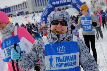 В Норильске стартует марафон здоровья «Лыжня «Норникеля»