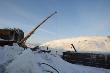 Работоспособность цепочки переработки вкрапленной руды на НОФ восстановят к 15 апреля