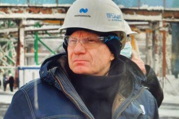 Владимир Потанин посетил строительную площадку «Серной программы»