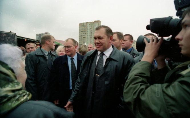 Губернатор Александр Лебедь был частым гостем Норильска