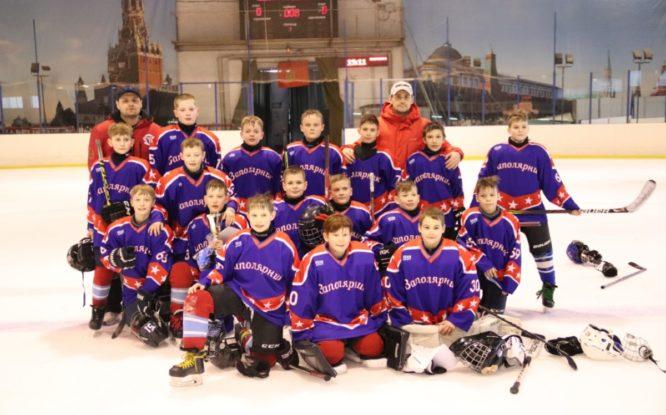 Норильские юноши стали призерами первенства Красноярского края по хоккею