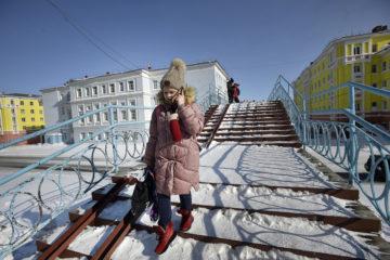 К концу рабочей недели в Норильске вновь заметно потеплеет