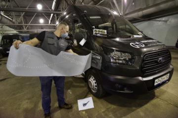 В Норильске закупили новые микроавтобусы для перевозки горожан в аэропорт