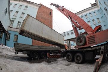 В Норильск привезли новый компьютерный томограф