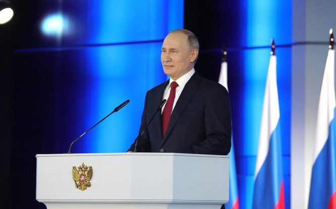 Президент России огласит послание Федеральному собранию 21 апреля