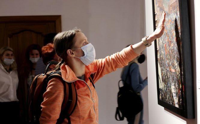 Выставку из Русского музея будут экспонировать в Норильске до осени