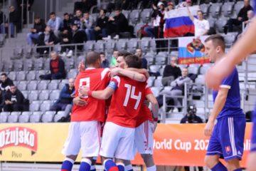 Игроки МФК «Норильский никель» готовятся к отборочным встречам Евро-2022