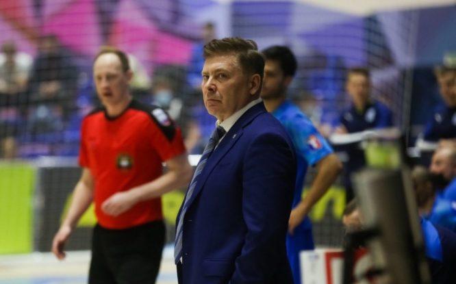 Евгения Куксевича признали тренером месяца в российском мини-футболе