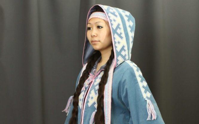 Ненецкая легенда о Девушке-Весне воплотилась в дизайнерской одежде