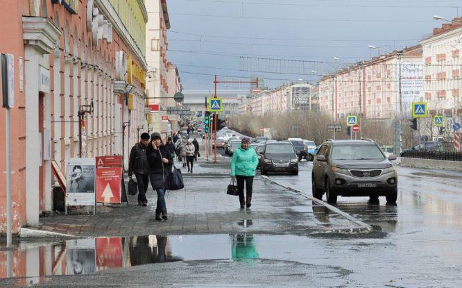 В Норильске к концу недели потеплеет до +7 градусов