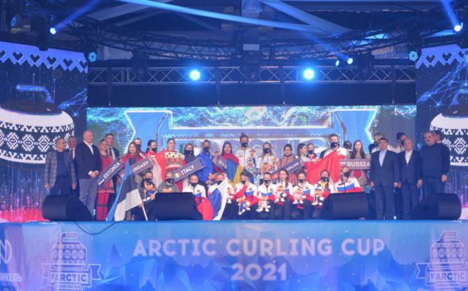 В Дудинке торжественно открыли WCT Arctic Cup