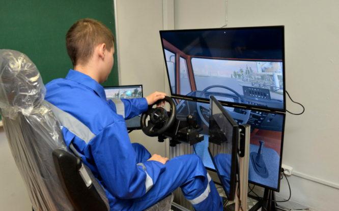 В политехническом колледже открыли лабораторию виртуального обучения