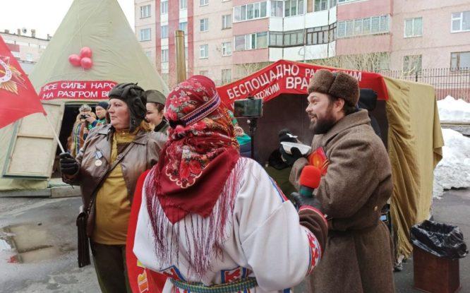 Дудинка празднует День Победы