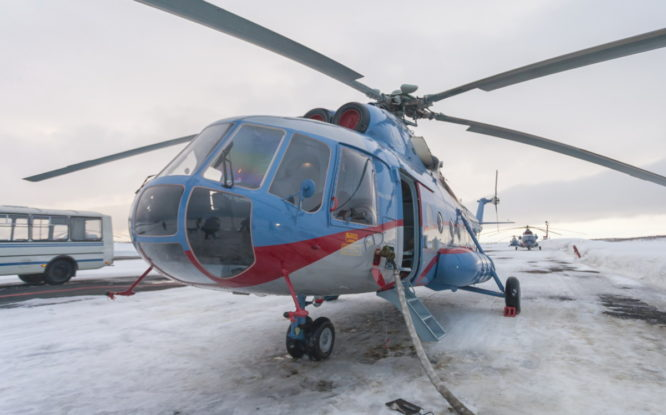 Вертолеты «Норильск Авиа» оснащают системой геопозиционирования
