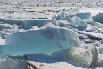 Кромка льда находится в 220 километрах от Дудинки