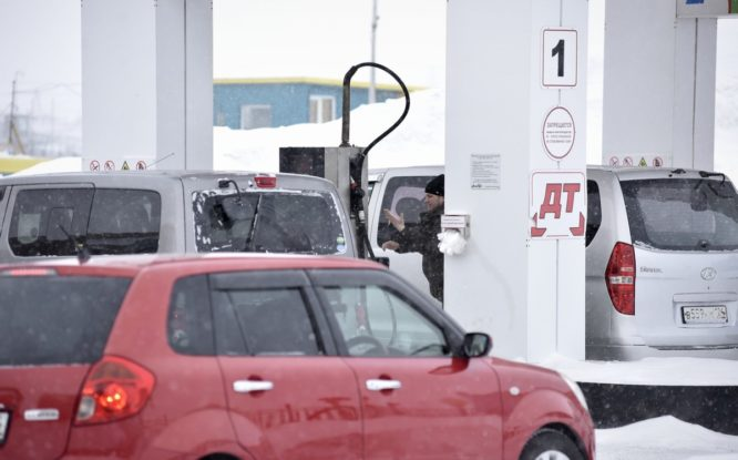 В Норильске с 1 июня подорожает бензин