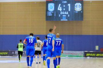 «Норильский никель» взял верх в первом полуфинальном матче чемпионата