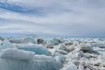 Кромка льда на Енисее уже в ста километрах от Дудинки