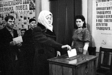 Норильск участвовал в выборах, еще будучи рабочим поселком
