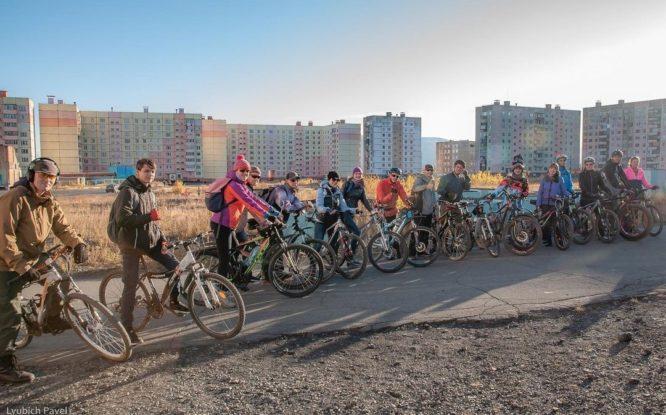 В Норильске набирает популярность велоспорт