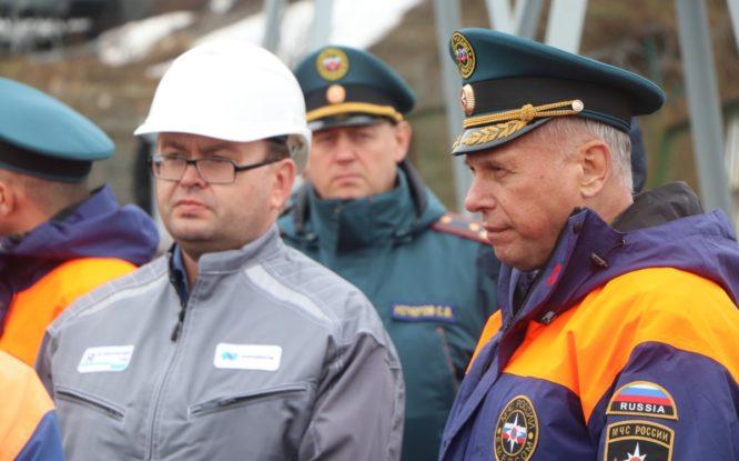 В Норильске и Дудинке готовятся к крупным учениям МЧС