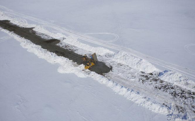 На Таймыре начали строить автодорогу для угольного кластера