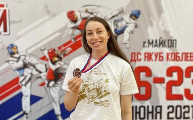 Норильчанка стала призером Кубка России по тхэквондо