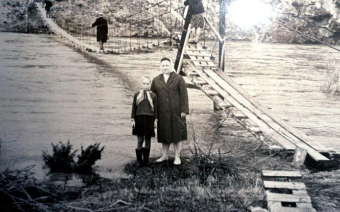 Первые мосты Норильска делали из дерева и льда