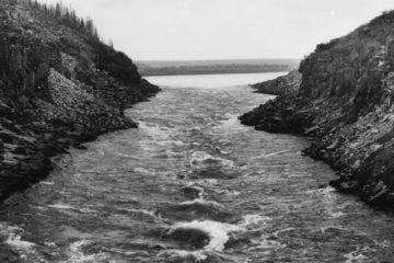 На реках Норильска планировали построить целую цепь гидростанций