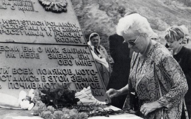 Четверть века назад на «Норильской Голгофе» открыли польский мемориал