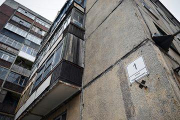 В Кайеркане продолжают расселять аварийную пятиэтажку