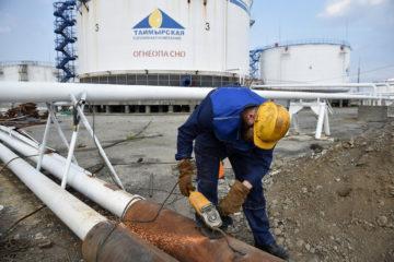 «Норникель» начал реновацию нефтебаз в Норильске и Дудинке