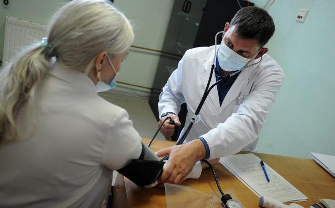 Средняя зарплата врача в Красноярском крае за прошлый год составила 96,5 тысячи рублей