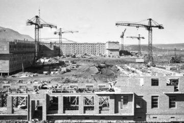 В 1950-х улица Советская разделила Норильск на две половины