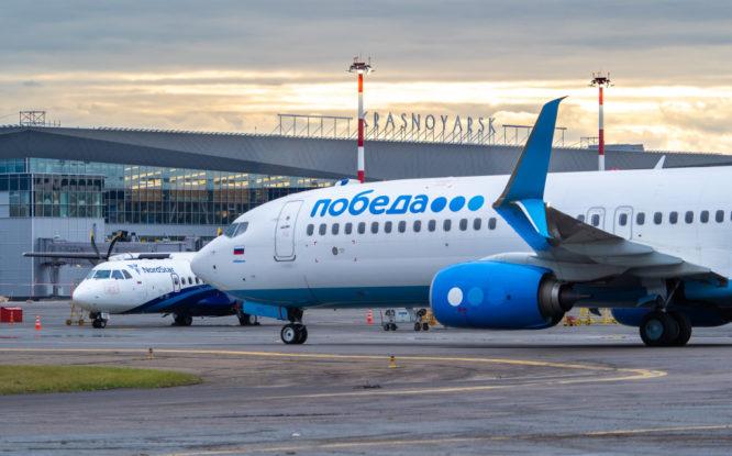 Большинство задержанных в Красноярске рейсов вылетели