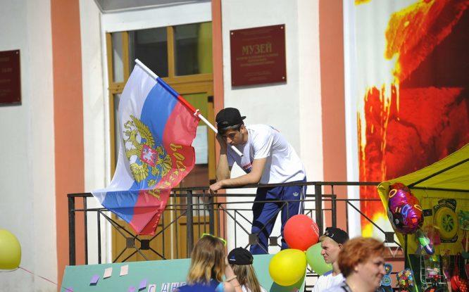 22 августа норильчане празднуют День Государственного флага
