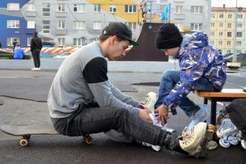 Норильские экстремалы оценили обновленный скейт-парк