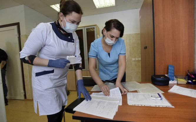 От коронавируса привились 63 процента норильских педагогов