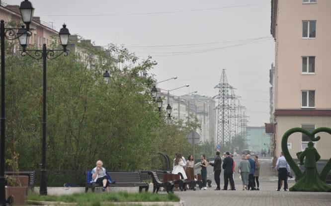 Роспотребнадзор: «Воздух Норильска не загрязнен из-за дыма якутских пожаров»